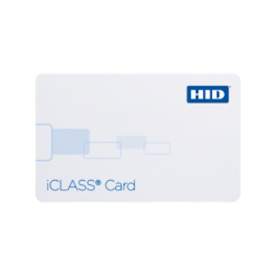 HID iCLASS Card - 200x 13.556 MHz Contactless Smart Card - 100 Pack