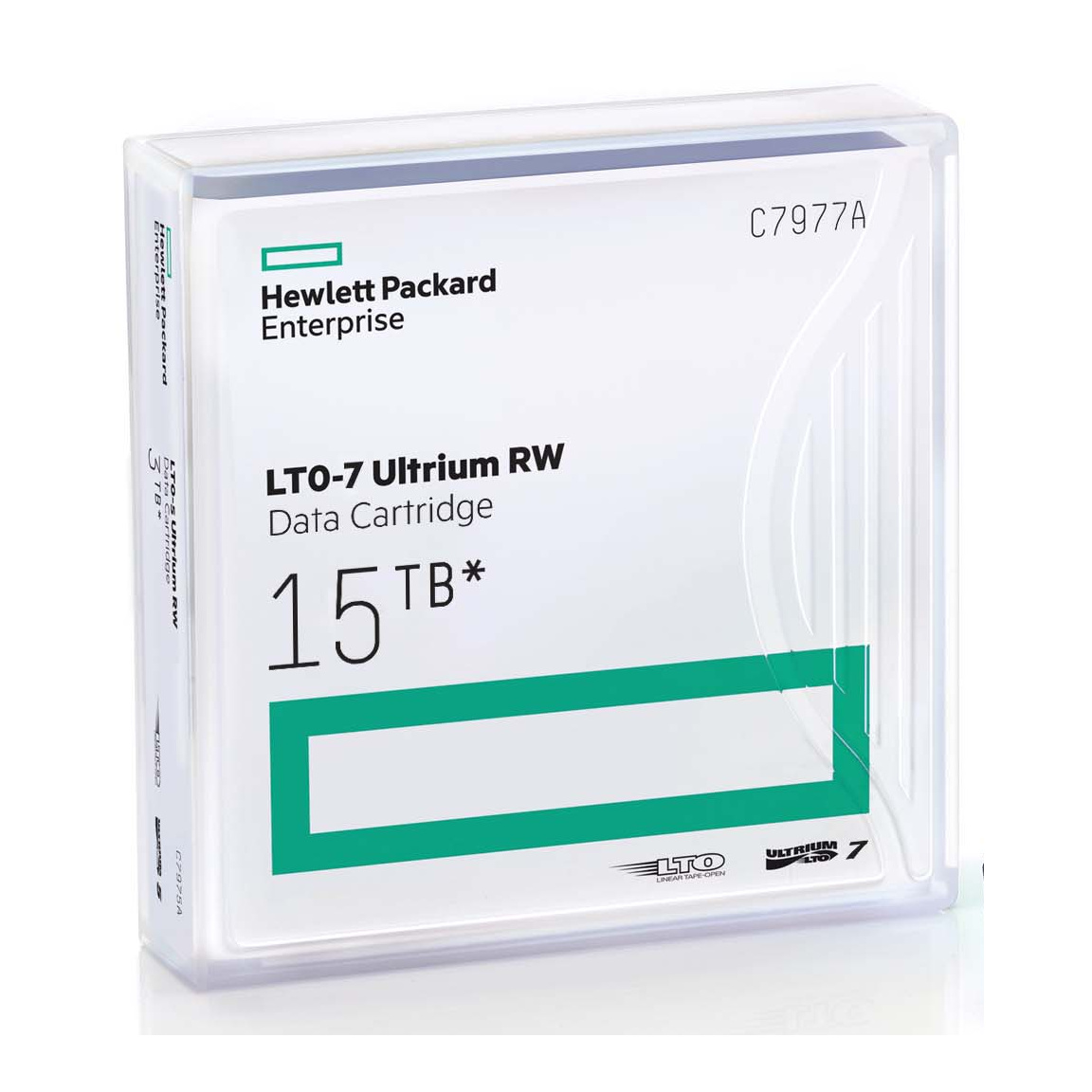 HPE LTO 7 Tape with Barium Ferrite (BaFe) C7977A